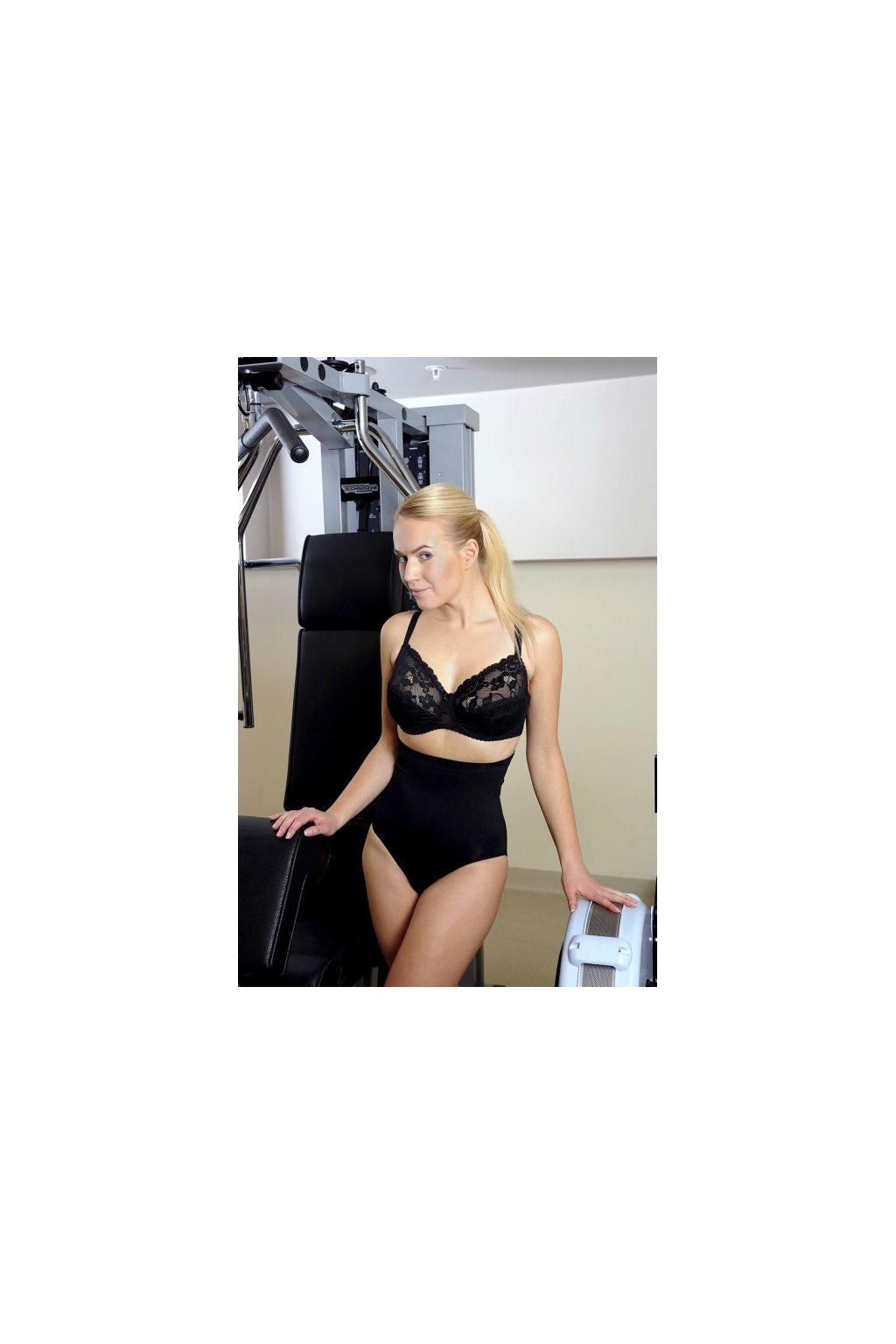 Dámské stahující kalhotky Hanna Style 06-53 černá