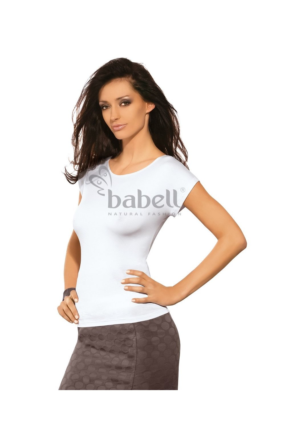Dámské triko Babell Kiti bílá