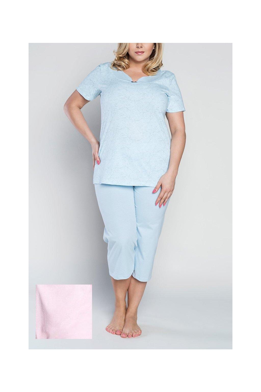 Dámské pyžamo Italian Fashion Zenobia růžová