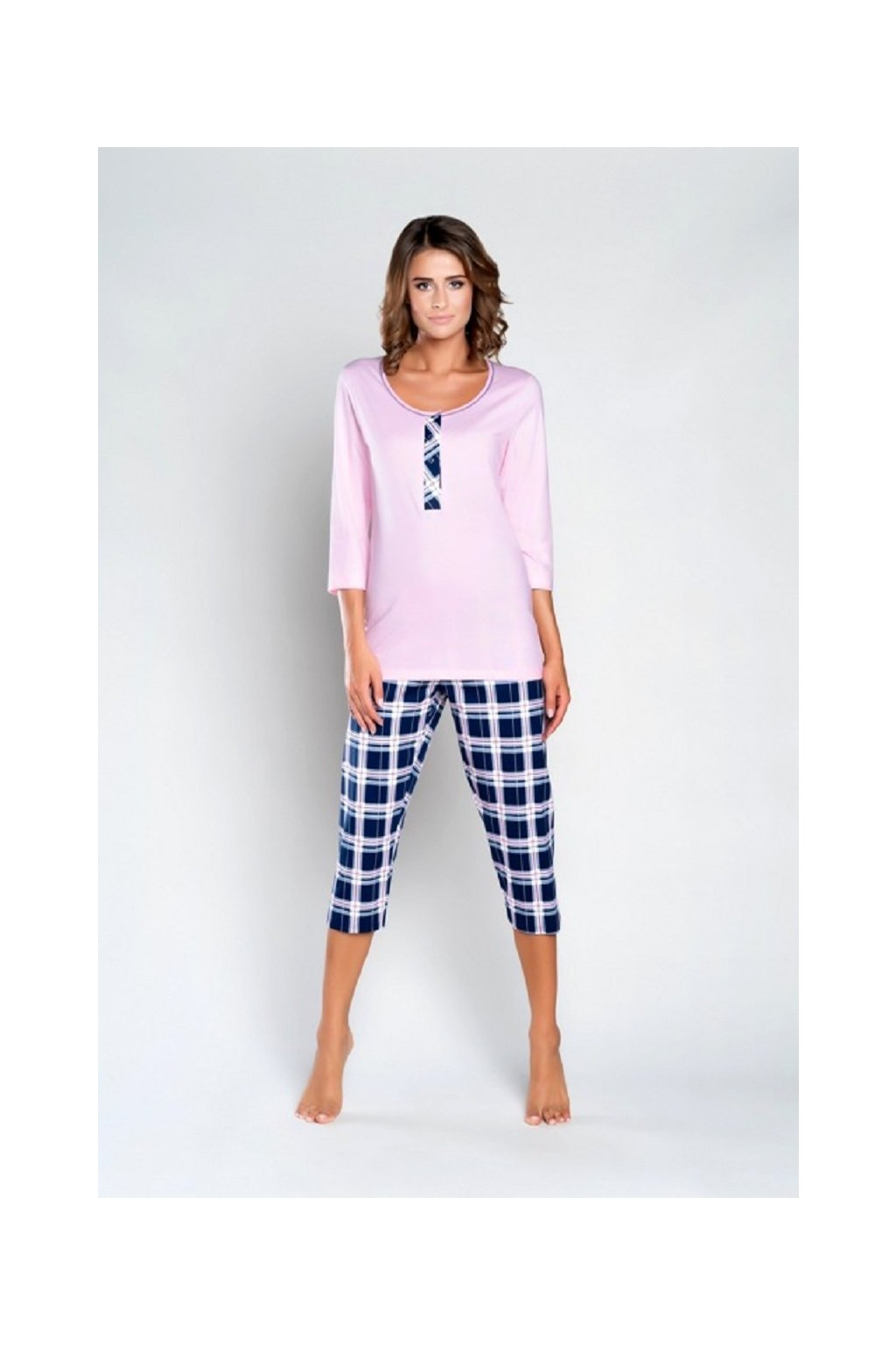 Dámské pyžamo Italian Fashion Sanita 3/4
