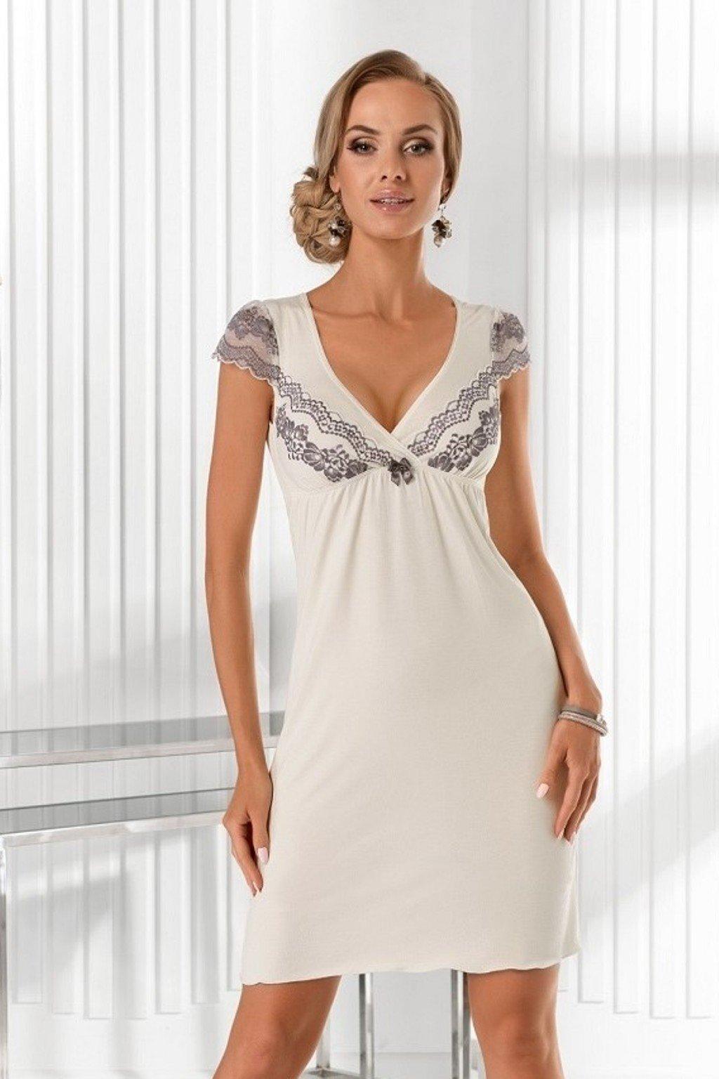 Dámská noční košile Donna Aura bílá