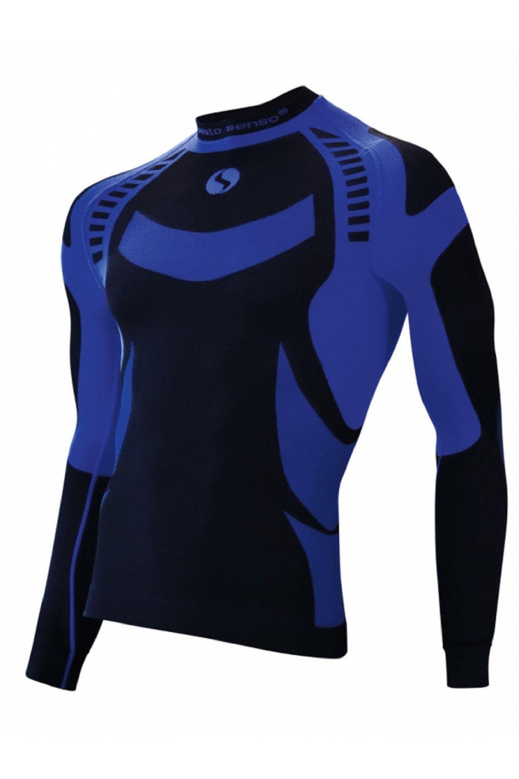 Termo triko Sesto Senso modrá
