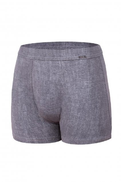 Boxerky Cornette Authentic 220 grey melange