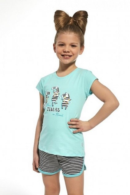 Dívčí pyžamo Cornette 247/66 zebra