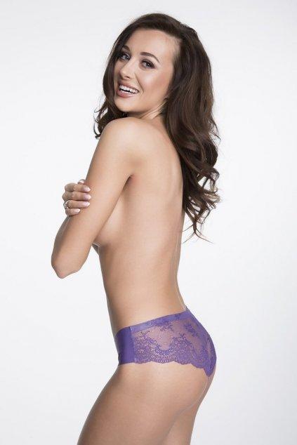 Kalhotky Julimex Tanga Panty fialová