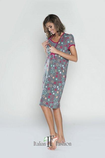 Dámská noční košile Italian Fashion Dione Šedá