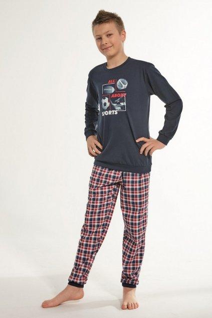 Chlapecké pyžamo Cornette 593-966/100 Sport