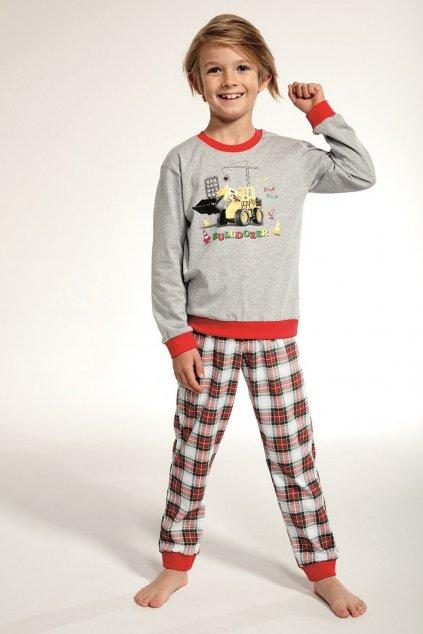 Chlapecké pyžamo Cornette 593/88 Bulldozer