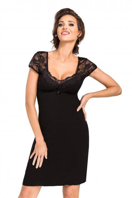 Dámská noční košile Donna Brigitte black