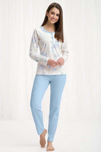 Dámské pyžamo 452 blue