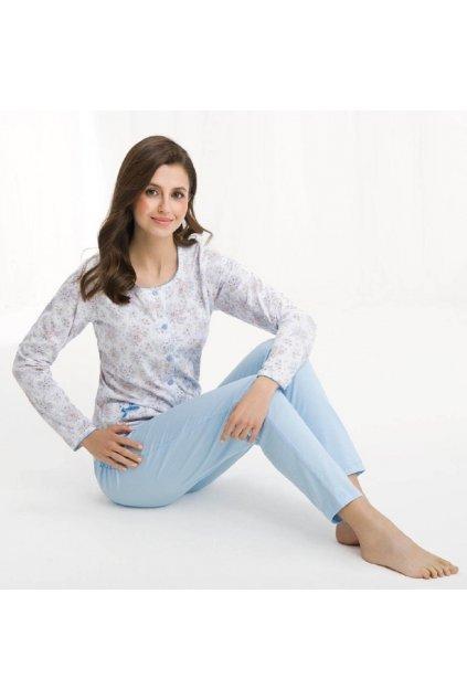 Dámské pyžamo 456 blue