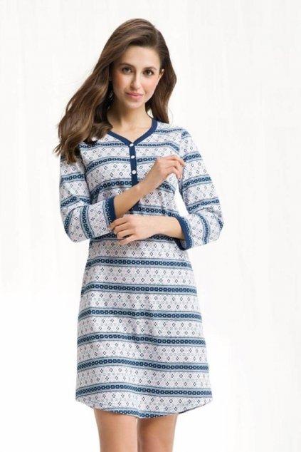 Dámská noční košile Luna 259 blue
