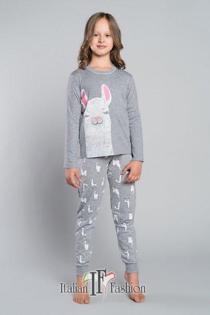 Dívčí pyžamo Italian Fashion Peru šedá