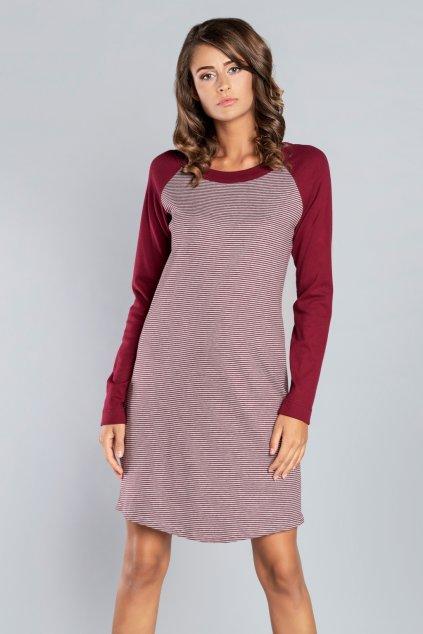 Dámská noční košile Italian Fashion Sana bordo