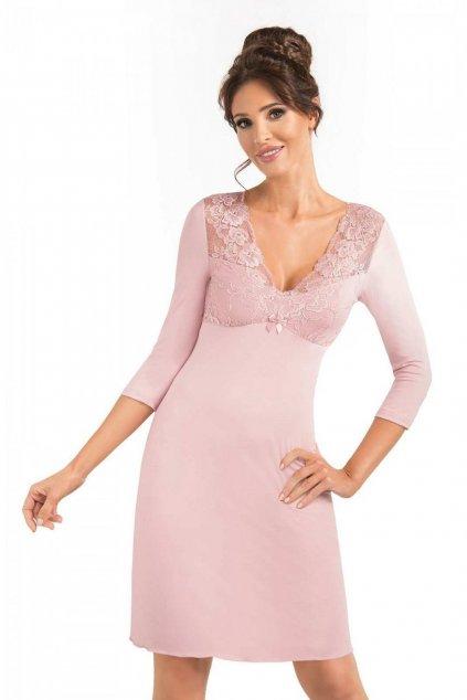 Dámská noční košile Donna Simone ll powder pink