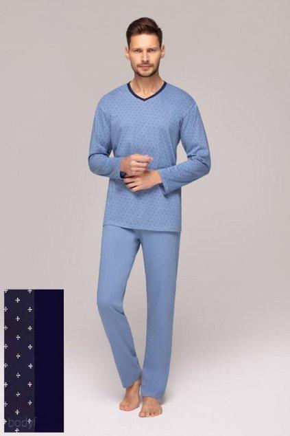 Pánské pyžamo Regina 553 modrá