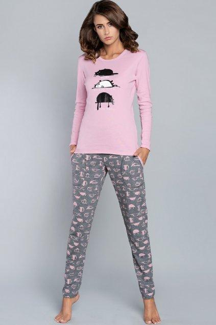Dámské pyžamo Italian Fashion Dima růžová