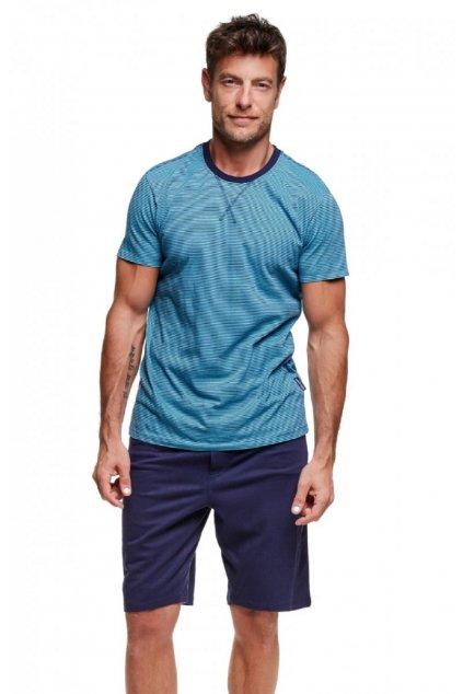 Pánské pyžamo Henderson 37757 tyrkys