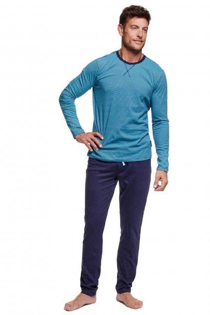 Pánské pyžamo Henderson 37299 tyrkys