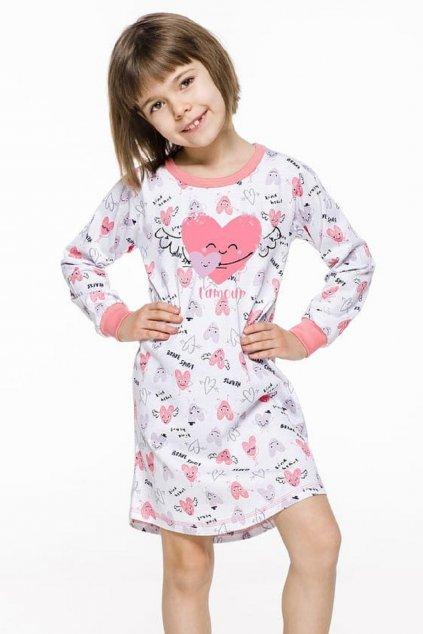 Noční košile dívčí Taro Malina 1014 Heart
