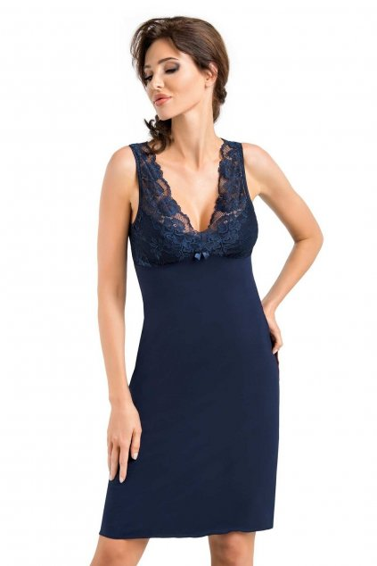 Dámská noční košile Donna Simone dark blue