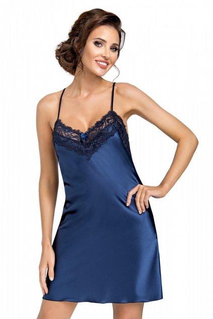 Dámská noční košile Donna Eva dark blue