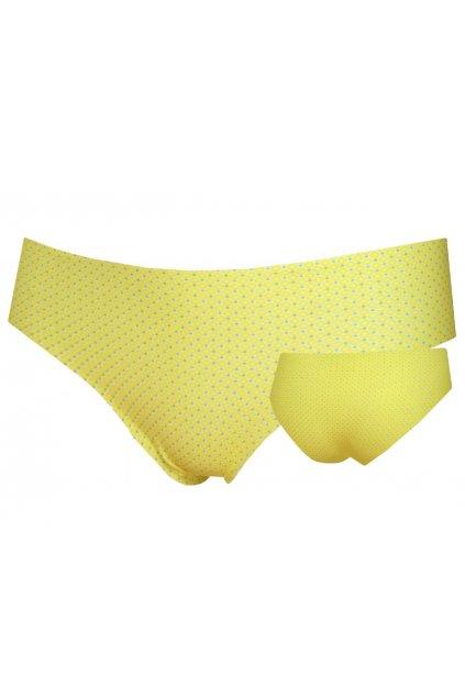 Dámské bezešvé kalhotky Lovelygirl 2312 D citrine