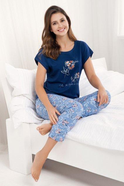 Dámské pyžamo Luna 484 granat