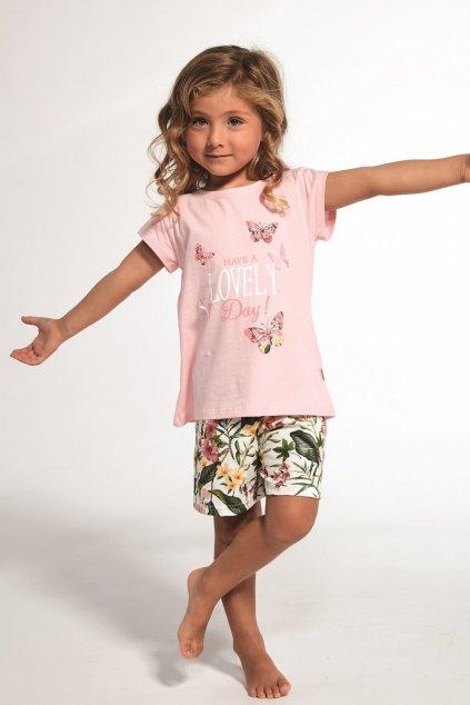 Dívčí pyžamo Cornette 362/76 Butterfly