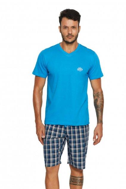 Pánské pyžamo Henderson 37828 tyrkys