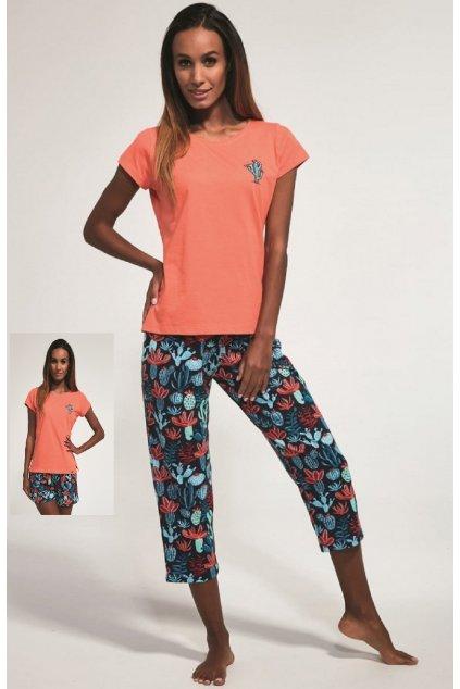 Dámské pyžamo Cornette 665/173 Cactus
