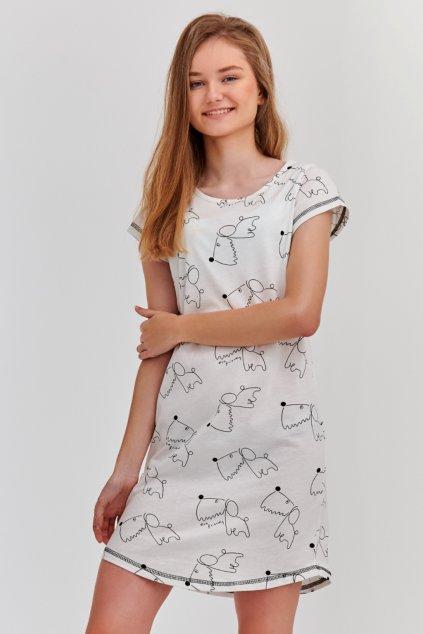 Noční košile dívčí Taro Inka 2209 dog