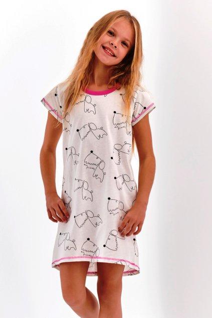 Noční košile dívčí Taro Pepa 2206 dog