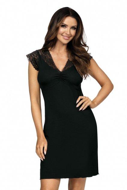 Dámská noční košile Donna Eleni black