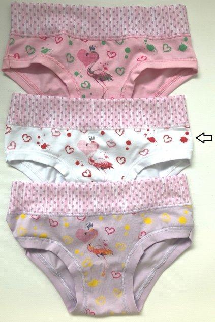 Dívčí kalhotky Emy SUB 2125  bianco