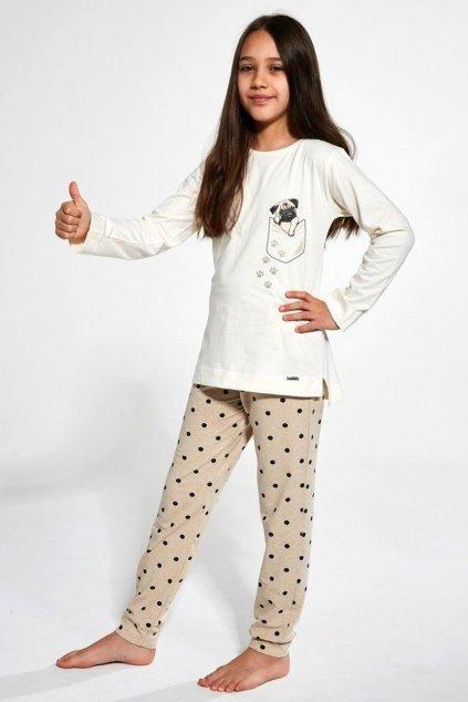 Dívčí pyžamo Cornette 382-383/134 Pug