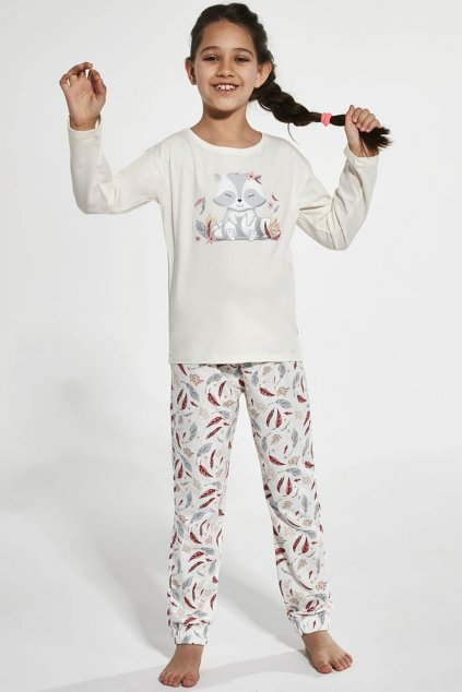 Dívčí pyžamo Cornette 594-973/125 Raccon