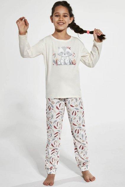 Dívčí pyžamo Cornette 594-973/125 Raccoon
