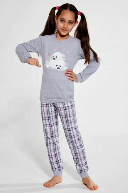 Dívčí pyžamo Cornette 592-594/132 Seals