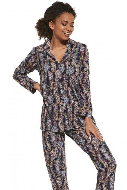 Dámské propínací pyžamo Cornette 482/264 Aline