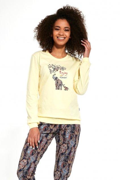 Dámské pyžamo Cornette 671/259 Elephants