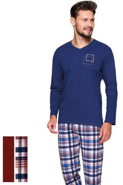 Pánské pyžamo Regina 573 bordo
