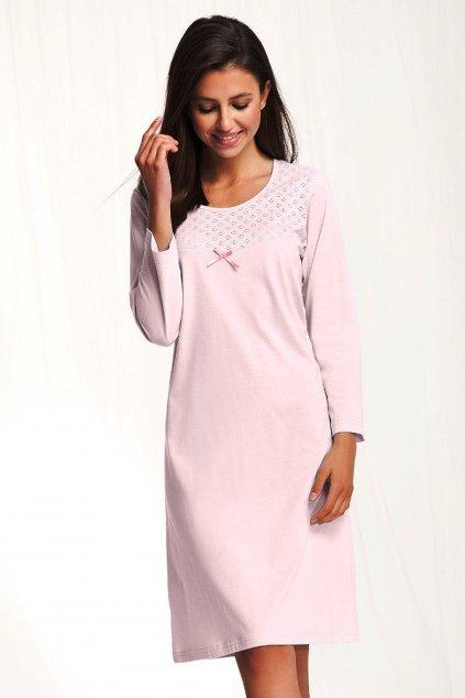 Dámská noční košile Luna 80 pink