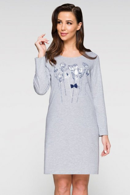 Dámská noční košile Regina 376 šedá