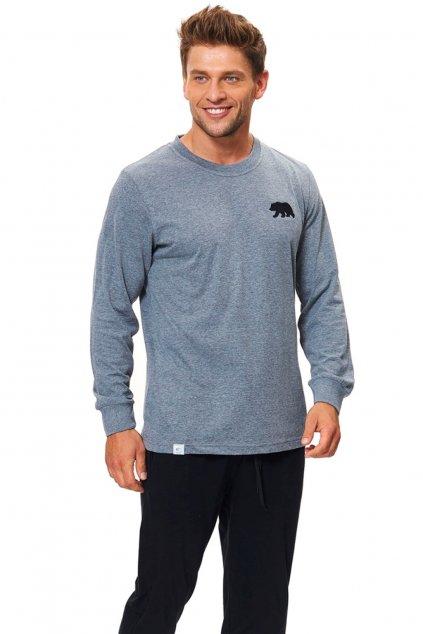 Pánské pyžamo Doctor Nap 9509 grey
