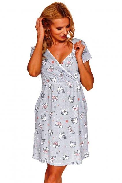 Dámská noční košile Doctor Nap 4126 grey
