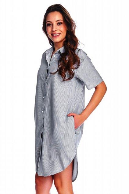 Dámská noční košile Doctor Nap 9988 blue