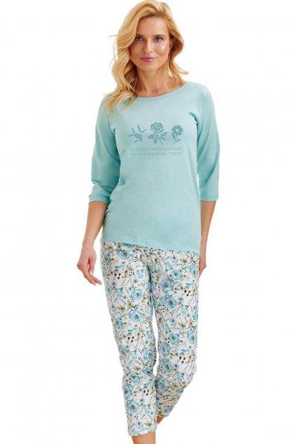 Dámské pyžamo Taro Nina 2242 tyrkys