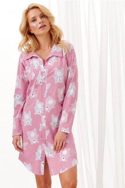 Dámská noční košile Taro Dalia 1191 pink