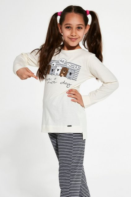 Dívčí pyžamo s dlouhým rukávem Cornette 781/129 Nice Day 2